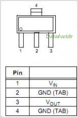 MCP1826ST-3302E-DB pinout,Pin out