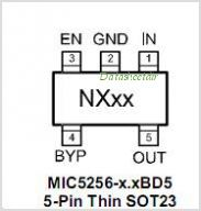 MIC5256 pinout,Pin out