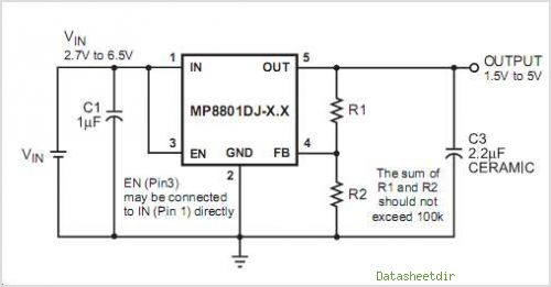 MP8801DJ- circuits