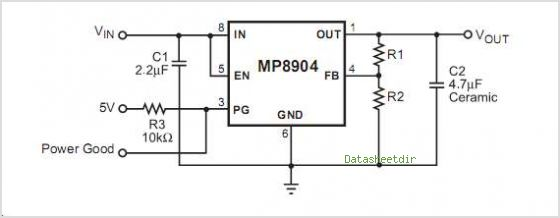 MP8904DD circuits