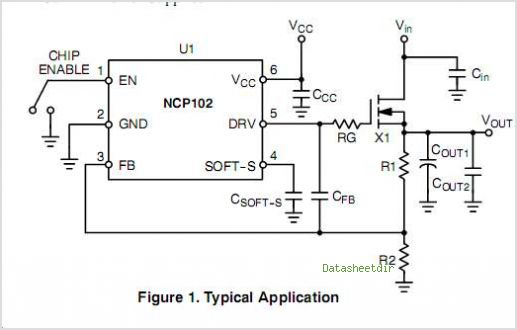 NCP102 circuits