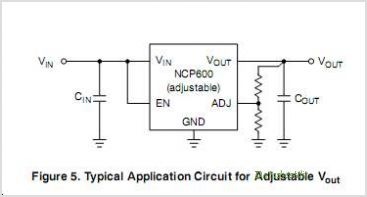 NCP600 circuits
