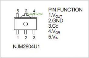 NJM2804 pinout,Pin out
