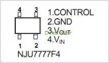 NJU7777F4-05 pinout,Pin out
