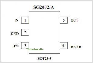 SG2002-2.5XN5-TR pinout,Pin out