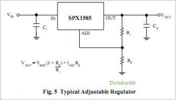 SPX1585 circuits