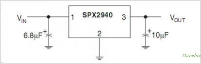SPX2940 circuits