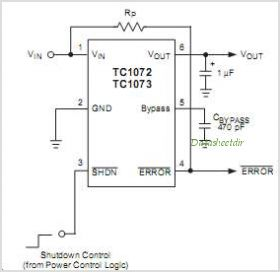 TC1072-3.6VCH713 circuits