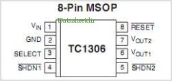 TC1306 pinout,Pin out