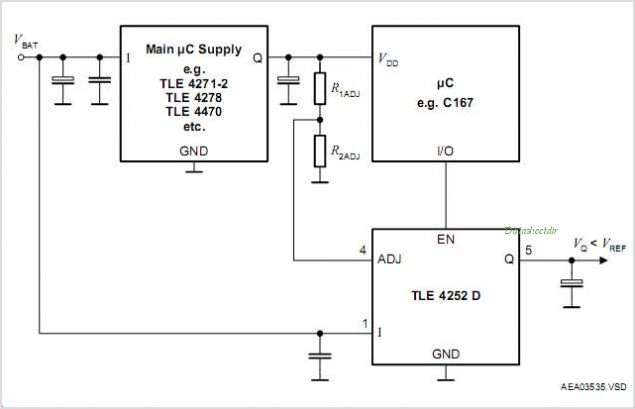 TLE4252D circuits