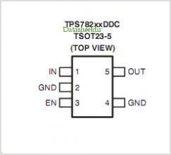 TPS78230 pinout,Pin out