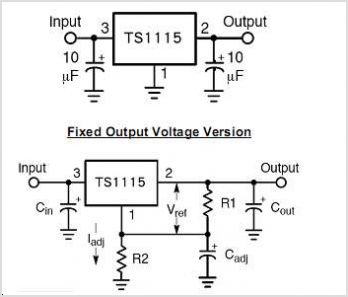 TS1115CT25 circuits