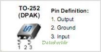 TS1540CP25 pinout,Pin out