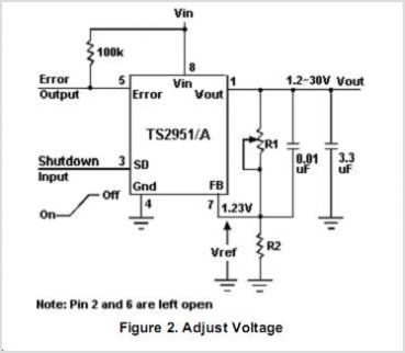TS2951CS33 circuits