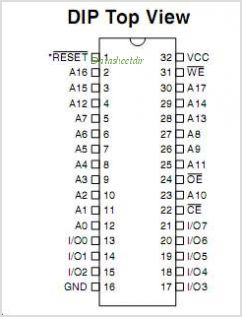 AT49BV002NT-90VC pinout,Pin out