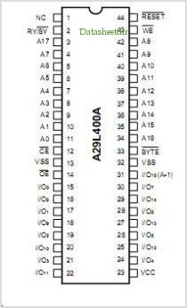 A29L400A pinout,Pin out