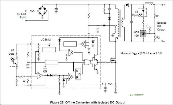 NCP100 datasheet, Pinout ,application circuits Sub 1V Precision