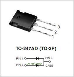 MBR30H90PT pinout,Pin out