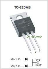 MBR60100CT pinout,Pin out