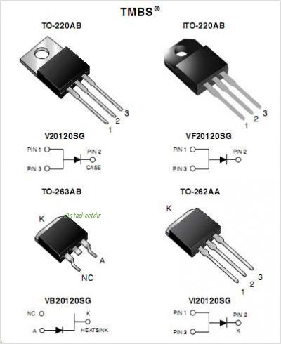 V20120SG pinout,Pin out