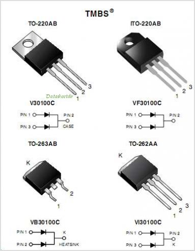 V30100C pinout,Pin out