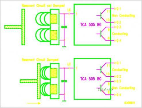 TCA505BG circuits