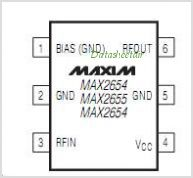 MAX2655 pinout,Pin out