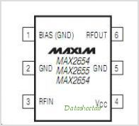 MAX2656 pinout,Pin out