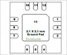 TGA2513-SM pinout,Pin out