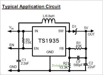 TS1935CX5 circuits