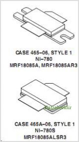 MRF18085A pinout,Pin out