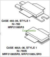 MRF21085R3 pinout,Pin out
