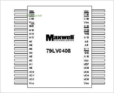 79LV0408 pinout,Pin out