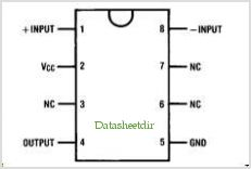DS8627 pinout,Pin out