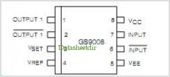 GS9008 pinout,Pin out