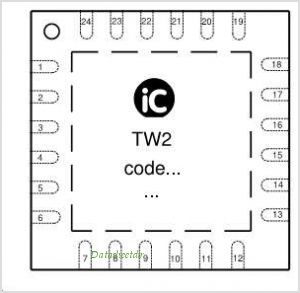 IC-TW2 pinout,Pin out