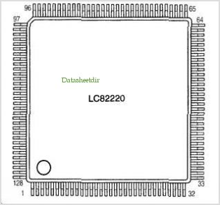 LC82220 pinout,Pin out