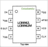 LC89962 pinout,Pin out