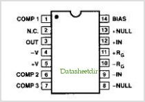 SSM-2015 pinout,Pin out