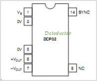 DCP020515D pinout,Pin out