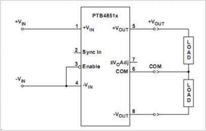 PTB48511A circuits