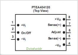 PTEA404120 pinout,Pin out