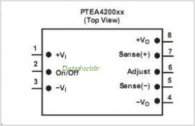 PTEA420025 pinout,Pin out