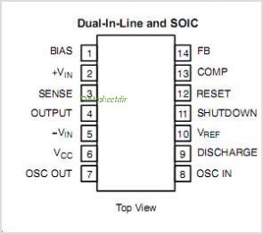 SI9112 pinout,Pin out