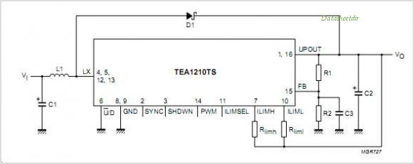 TEA1210TS circuits