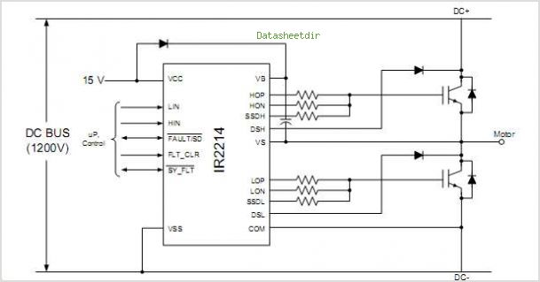 IR2114 circuits