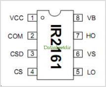 IR2161 pinout,Pin out