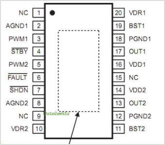 MP8042 pinout,Pin out