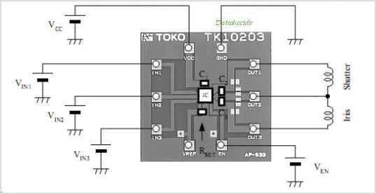 TK10203AM9 circuits