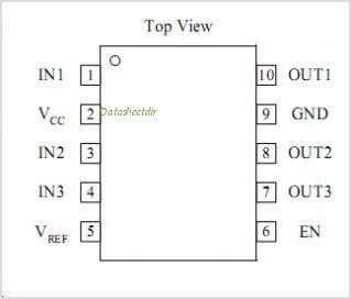 TK10203AM9 pinout,Pin out